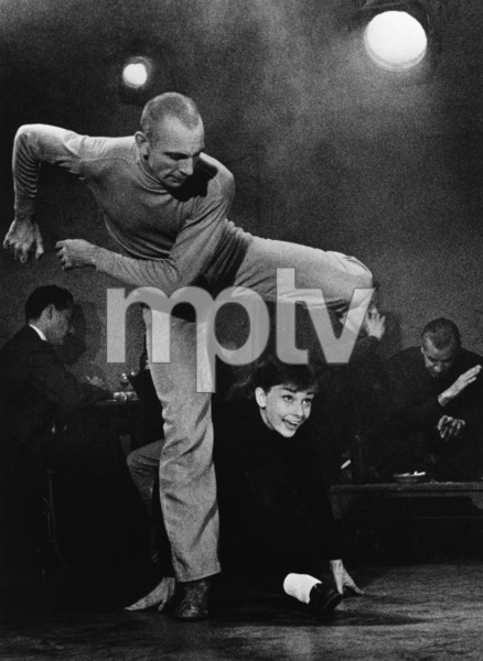 """Funny Face"" Audrey Hepburn 1956 Paramount © 1978 Bill Avery - Image 9111_0355"