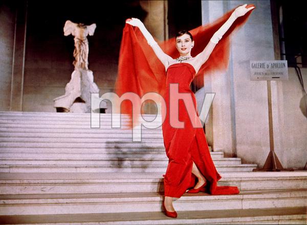 """Funny Face""Audrey Hepburn1956 / Paramount / MPTV - Image 9111_0364"