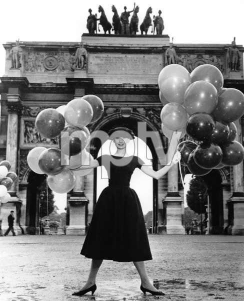 """Funny Face"" Audrey Hepburn 1956 Paramount **I.V. - Image 9111_0370"
