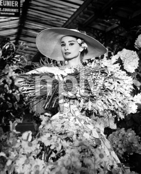 """Funny Face"" Audrey Hepburn 1956 Paramount **I.V. - Image 9111_0376"