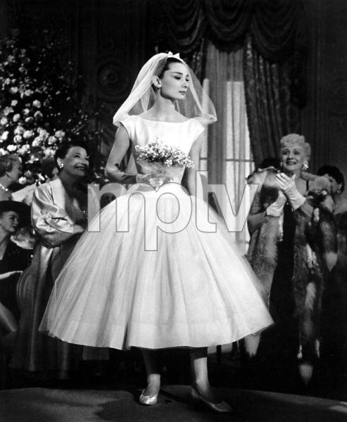 """Funny Face"" Audrey Hepburn 1956 Paramount **I.V. - Image 9111_0380"