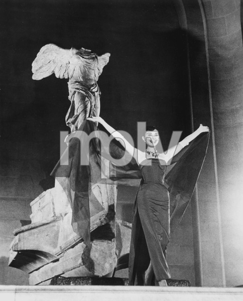 """Funny Face"" Audrey Hepburn 1956 Paramount **I.V. - Image 9111_0384"