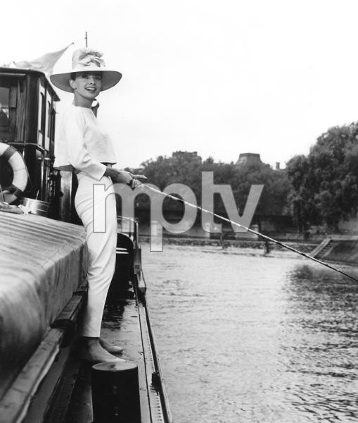 """Funny Face"" Audrey Hepburn 1956 Paramount **I.V. - Image 9111_0385"