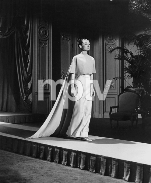 """Funny Face"" Audrey Hepburn 1956 Paramount **I.V. - Image 9111_0386"