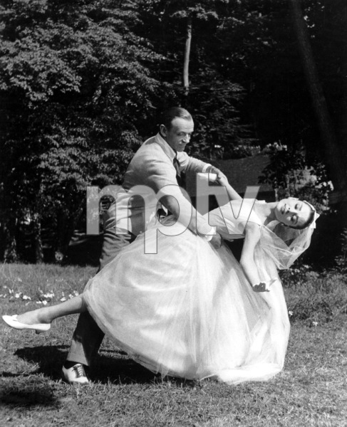 """Funny Face"" Audrey Hepburn, Fred Astaire 1956 Paramount **I.V. - Image 9111_0392"