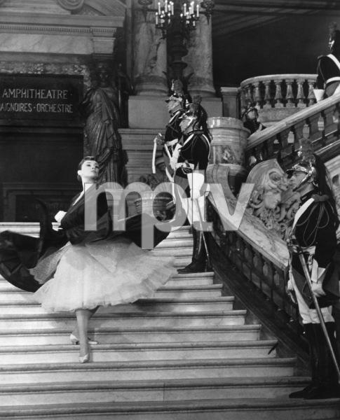 """Funny Face"" Audrey Hepburn 1956 Paramount **I.V. - Image 9111_0396"