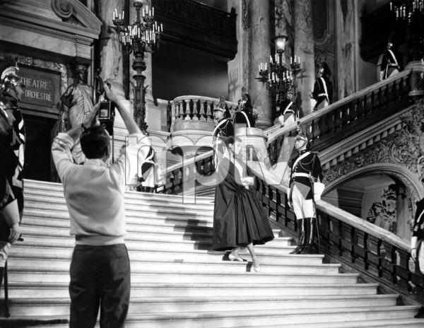 """Funny Face"" Audrey Hepburn 1956 Paramount **I.V. - Image 9111_0398"