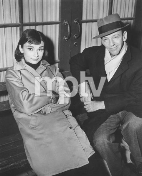 """Funny Face"" Audrey Hepburn, Fred Astaire 1956 Paramount **I.V. - Image 9111_0399"