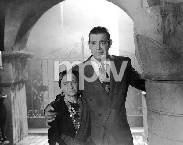"""THE WOLF MAN"" Lon Chaney, Jr.,  Maria Ouspenskaya, Universal, 1941, I.V. - Image 9131_0008"