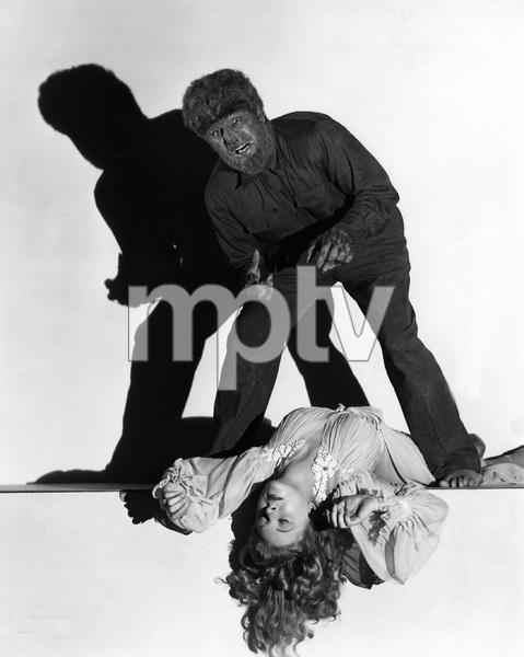 """THE WOLF MAN"" Lon Chaney, Jr., Evelyn Ankers, Maria Ouspenskaya, Universal, 1941, I.V. - Image 9131_0009"