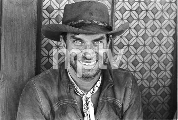 """Nevada Smith"" Martin Landau on the set, 1965 © 1978 Chester Maydole - Image 9149_0010"