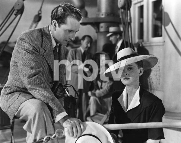 """""""Now, Voyager""""Paul Henried, Bette Davis1942 Warner Brothers**I.V. - Image 9162_0027"""