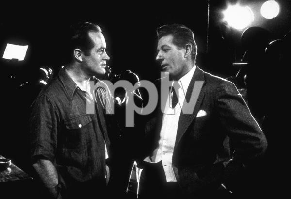 """Knock On Wood""Bob Hope visiting Danny Kaye on the set1955 Paramount © 1978 Bob Willoughby - Image 9193_0001"