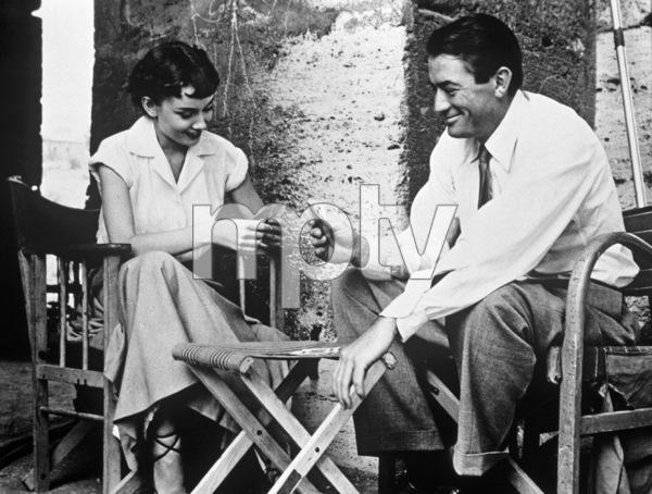 """Roman Holiday""Audrey Hepburn, Gregory Peck1953 - Image 9202_0004"