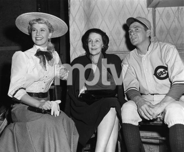 """The Winning Team""Doris Day, Aimee Alexander, Ronald Reagan1952 Warner BrothersPhoto by Mac Julian - Image 9209_0002"
