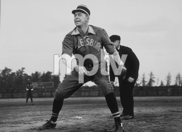 """The Winning Team""Ronald Reagan1952 Warner Bros. © 1978 Mac JulianMPTV - Image 9209_0004"