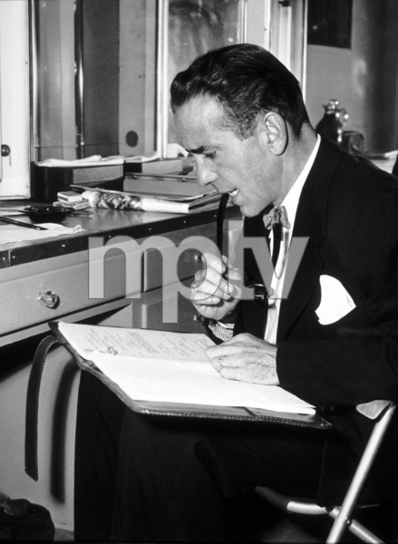 """The Enforcer""Humphrey Bogart1950 Warner Bros.Photo by ""Graybill""MPTV - Image 9214_0001"
