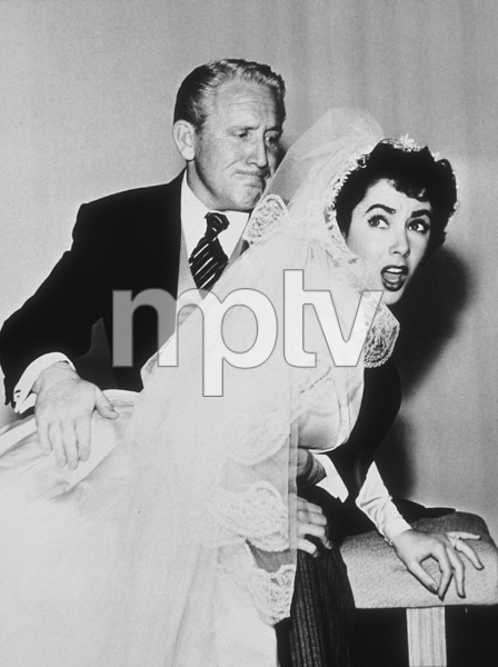 """Father of the Bride""Spencer Tracy and Elizabeth Taylor1950 MGM**R.C.MPTV - Image 9235_0007"