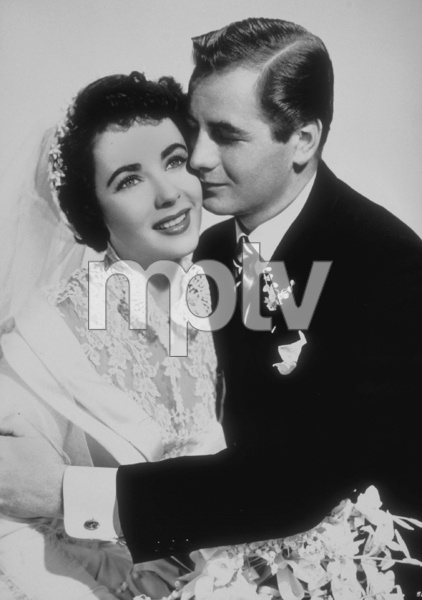 """""""Father of the Bride""""Elizabeth Taylor, Don Taylor1950 MGM**R.C.MPTV - Image 9235_0009"""