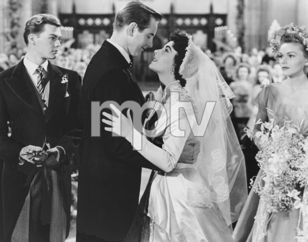 """Father of the Bride""Tom Irish, Don Taylor, Elizabeth Taylor1950 MGM**R.C.MPTV - Image 9235_0010"