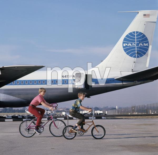 Bicycles (Schwinn)circa 1960s / Los Angeles Airport © 1978 Sid Avery - Image 9245_0016