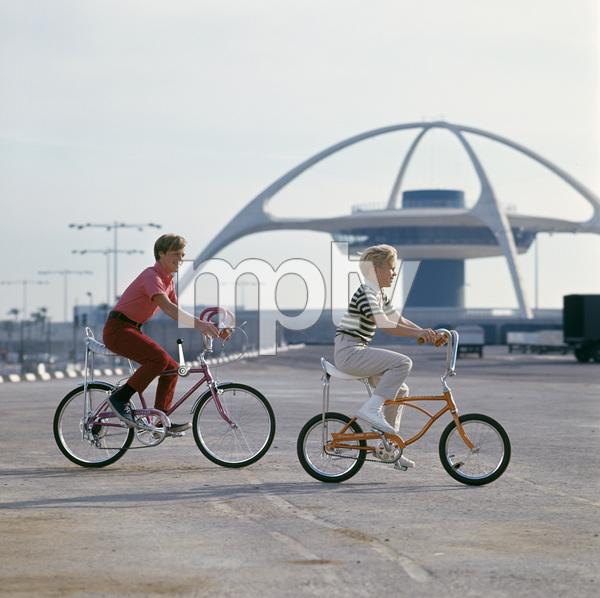 Bicycles (Schwinn)circa 1960s / Los Angeles Airport © 1978 Sid Avery - Image 9245_0017