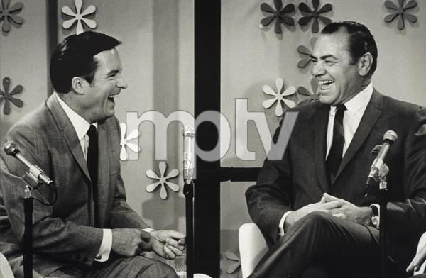 """""""The Mike Douglas Show"""" Mike Douglas, Ernest Borgnine1972 - Image 9251_0002"""