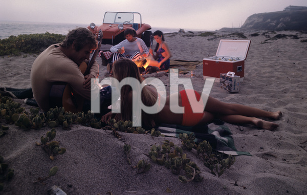 Advertising (Beer party at beach)1970© 1978 Sid Avery - Image 9277_0191