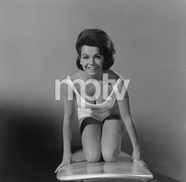 """""""Beach Party""""Publicity shot of Annette Funicello1963 AIP © 1978 Sid Avery - Image 9281_0007"""