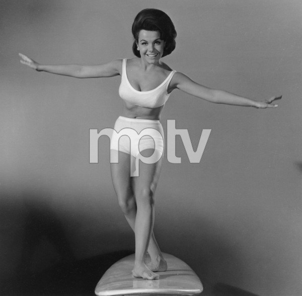 """""""Beach Party""""Publicity Shot for Annette Funicello1963 AIP © 1978 Sid Avery - Image 9281_0008"""