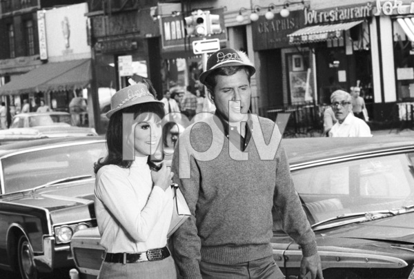 """That Girl"" Marlo Thomas and Ted Bissellc. 1967 ABC in New York © 1978 Chester Maydole - Image 9290_0018"