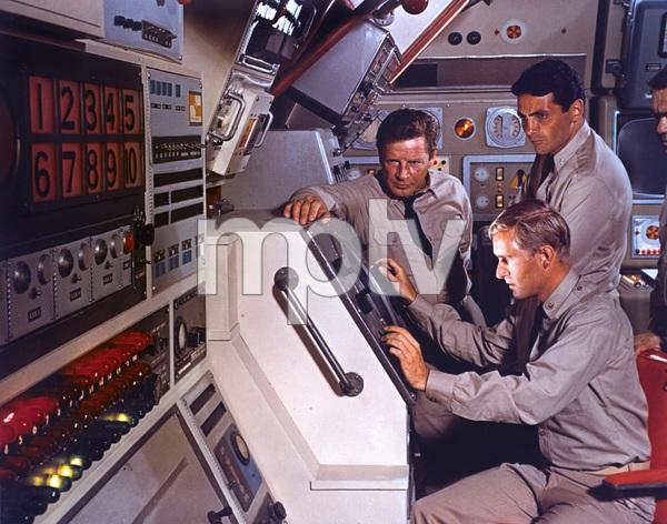 """ Voyage to the Bottom of the Sea""Richard Basehart, David Hedison , Robert Dowdellc. 1964 © Irwin Allen Properties, LLC and Twentieth Century Fox Film Corporation. All rights reserved - Image 9298_0107"