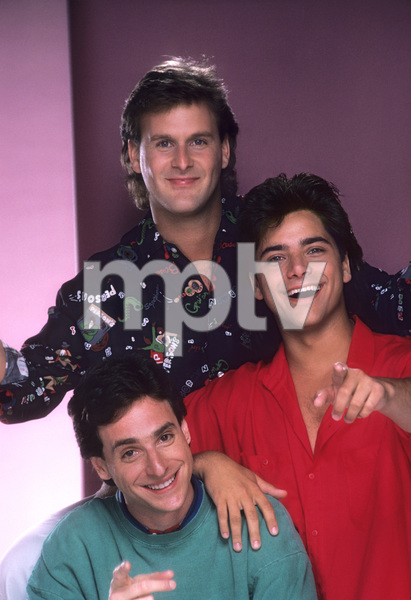 """Full House""Bob Saget, Dave Coulier, John Stamos1987 © 1987 Mario Casilli - Image 9335_0041"