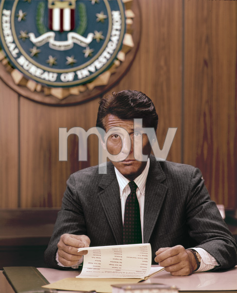 """The F.B.I.""Efrem Zimbalist Jr.circa 1960s** H.L. - Image 9348_0015"