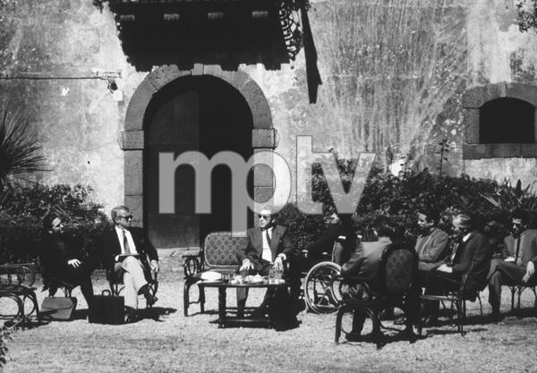 """Godfather III""Al Pacino, Andy Garcia, George Hamilton © 1990 Paramount - Image 9364_0004"