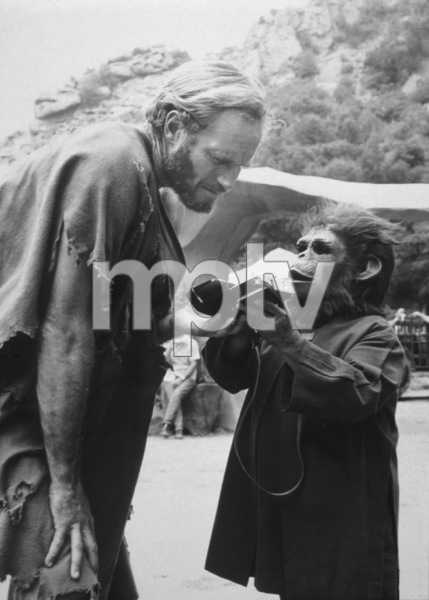 """Planet Of The Apes""Charlton Heston1968 20th Century Fox**I.V. - Image 9436_0049"