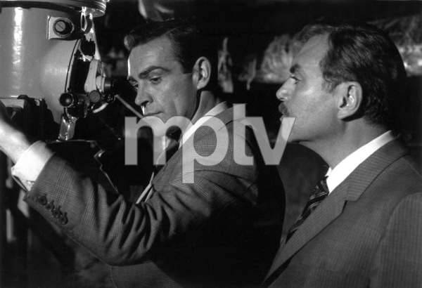 """From Russia With Love""Sean Connery,Pedro Armendariz1963 U.A.**I.V. - Image 9451_0012"