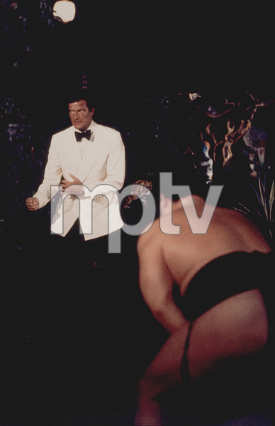 """""""The Man With The Golden Gun,"""" Roger Moore1974 UA/MPTV - Image 9453_0001"""