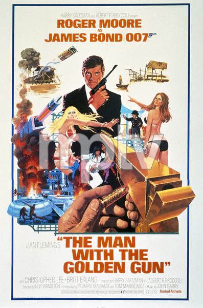 """""""The Man with the Golden Gun"""" (Poster)1974 MGM** I.V. - Image 9453_0009"""
