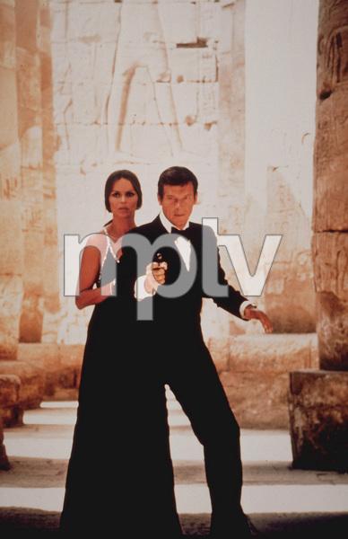 """The Spy Who Loved Me,""Barbara Bach, Roger Moore1977 UA / MPTV  - Image 9457_0003"