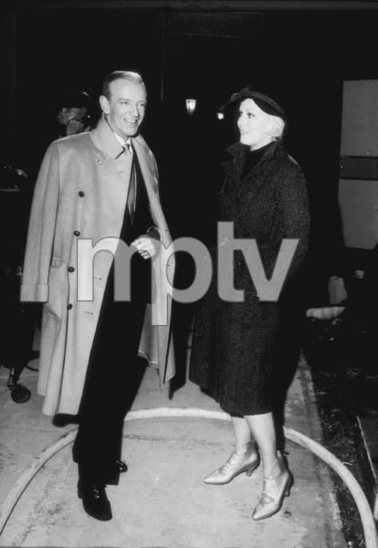 """Notorious Landlady""Fred Astaire and Kim Novak on the set, 1962. © 1978 Mel TraxelMPTV  - Image 9459_0007"