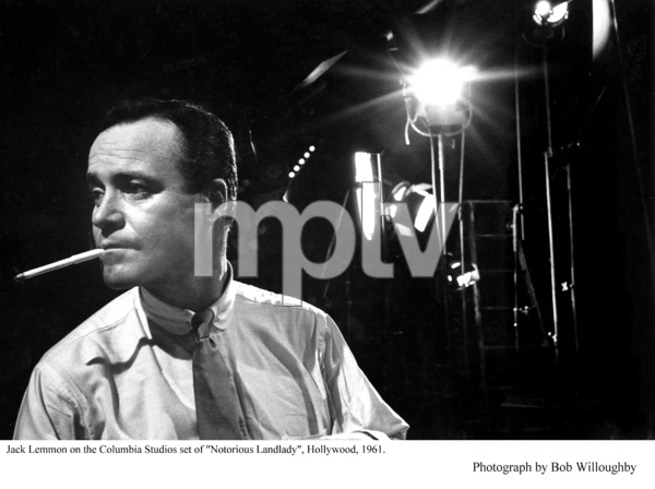 """Notorious Landlady""Jack Lemmon on the set.Photo taken in 1961 / Columbia © 1978 Bob Willoughby - Image 9459_0028"