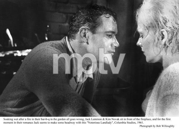 """Notorious Landlady""Jack Lemmon, Kim Novak1962 Columbia © 1978 Bob Willoughby - Image 9459_0029"