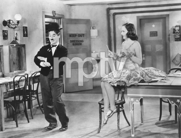 """Modern Times""Charlie Chaplin and Paulette Goddard1936**I.V. - Image 9463_0007"
