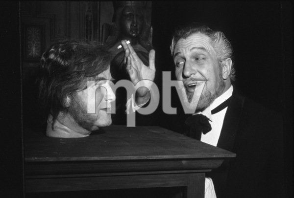"""""""House Of Wax,"""" Vincent Price.1953 WarnerPhoto by Jack Woods - Image 9469_0022"""