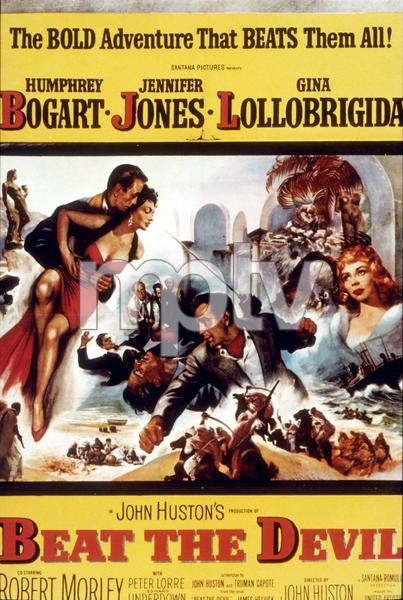 """Beat the Devil""Humphrey Bogart, Jennifer Jones, and Gina Lollobrigida1953 Romulus/Santana MPTV - Image 9473_0002"