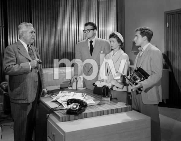 """Adventures of Superman""John Hamilton, George Reeves, Phyllis Coates, Jack Larsoncirca 1952** I.V.C. - Image 9478_0014"