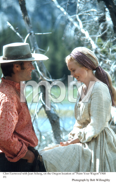 """""""Paint Your Wagon"""" Clint Eastwood,Jean Seberg, 1969 Paramount © 1978 Bob Willoughby - Image 9487_0004"""