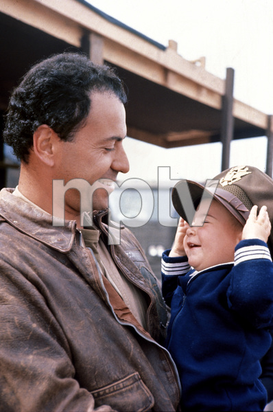 """Catch-22""Alan Arkin and baby Anthony1970 Paramount © 1978 Bob Willoughby - Image 9488_0021"