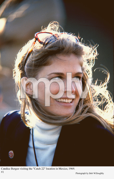 """Catch 22""Candice Bergen on location in Mexico, 1969 © 1978 Bob Willoughby - Image 9488_0034"
